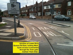 CT10LwrRdFletcherRdGarethGee02 Lower Rd access is Tram Only
