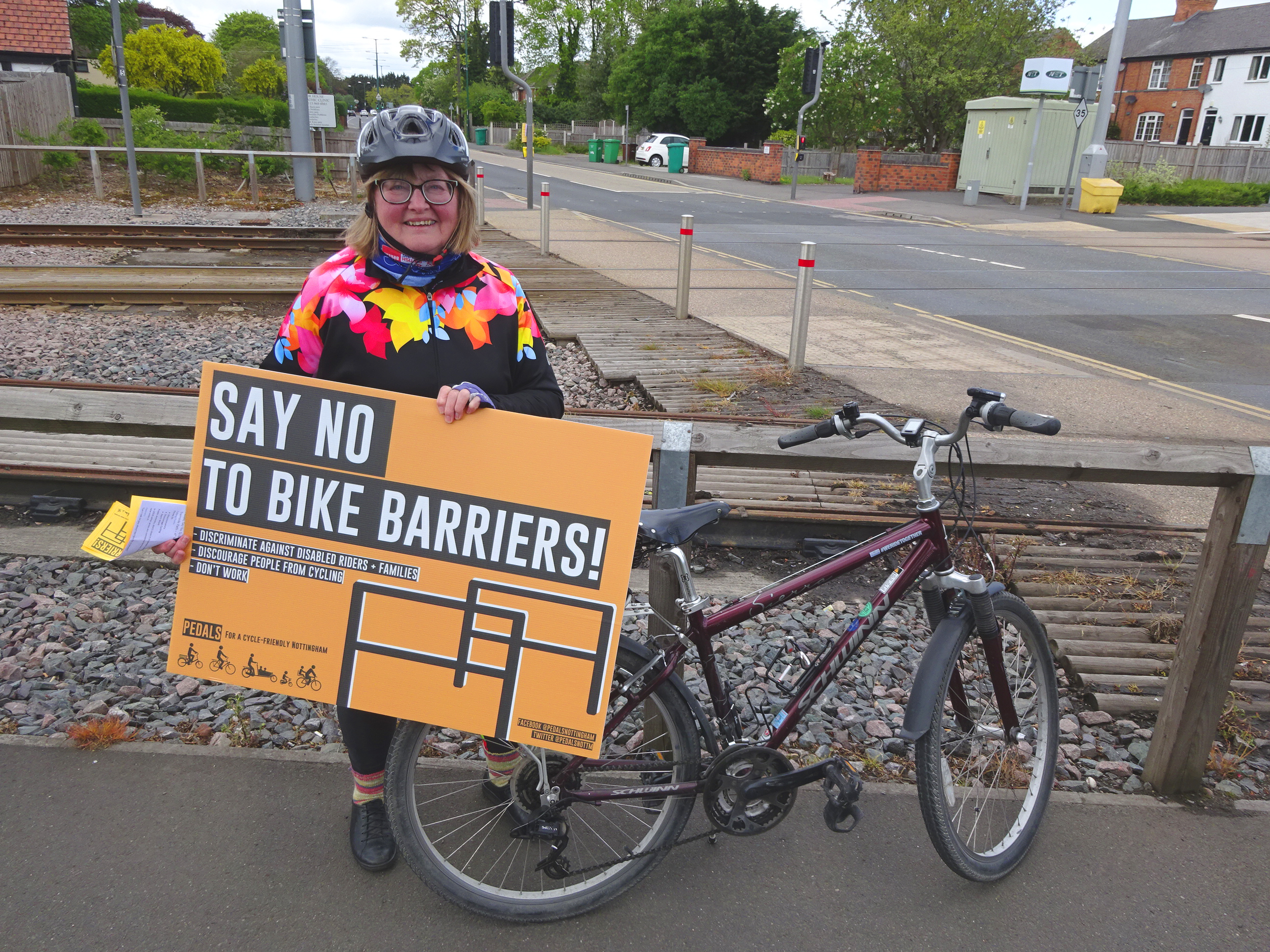 Pedals Protest Plans for Cycle Path Barriers – Pedals